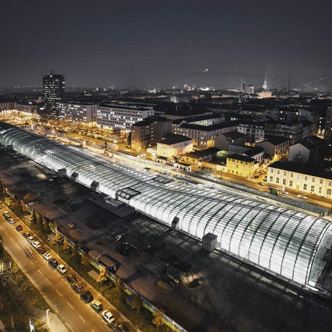Nuova stazione Porta Susa Torino | Cima Infissi
